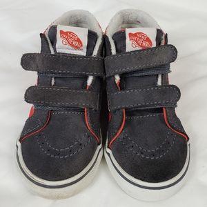 Vans Toddler hi top skate shoe